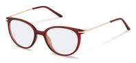 Rodenstock-Korekční brýle-R5312-dark red, rose gold