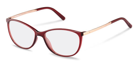 Rodenstock-Korekční brýle-R5315-dark red, rose gold