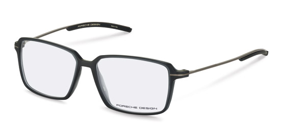 Porsche Design-Korekční brýle-P8311-dark grey transparent