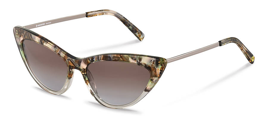 Rodenstock Capsule Collection-Sluneční brýle-RR336-greenrosestructured/darkgun