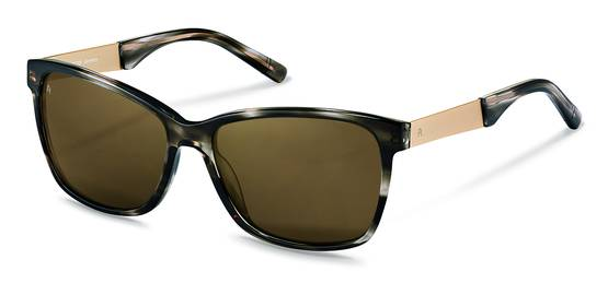 Rodenstock-Sluneční brýle-R3302-dark grey structured, light gold